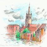 Bruges - 15x21cm - 40€ - n°18288