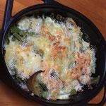 セロリとひき肉のグラタン/celery glatin with ground meat
