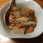 大根と人参のおでん / daikon & carrot oden