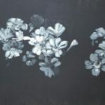 Inspiration japonaise 50x61cm peinture acrylique