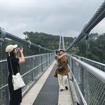 """大分県の九重町にある「九重""""夢""""大吊橋」は日本一高い場所にある吊り橋"""