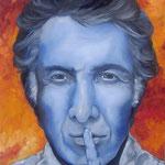 Dustin Hoffman    olio su tela   60x70