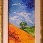 collina      spatolato30x90  (collezione privata)
