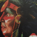 sioux          olio su tela       50x50