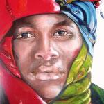 Tuareg          60x70 olio su tela