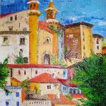 Urbino  spatolato      50x40 (collezione privata)