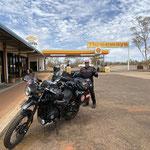 Threeways! Ab jetzt geht es Richtung Osten, Townsville