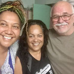 ich hatte Aborigines erwartet, die beiden Ladies sind Maori