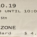 Original Fahrkarte