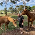 Marty und Pferd