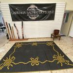 ... Besuch in der Larrakia Nation Host Stelle ...