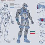 Concept art for 3D CG short