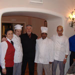 Terminillo - F. Campisi con il personale di sala e cucina