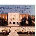 Comar Cagliari - Segretario Particolare - dedica del Comandante, Contrammiraglio Titta