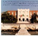 Comar Cagliari - Segretario al Comando - dedica del Comandante, C.V. Urpis