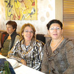 Giustina Congiu, Emma Ximenes e Tina Guerrieri