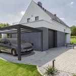 carport aluminium autoportant et adossé
