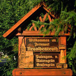 Ortsschild Neualbenreuth