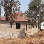 Guesthouses auf dem Wassertank - mit Dach.