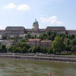 La collina della fortezza:Varhegy di giorno