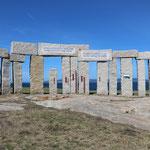 013_A Coruña_Parque de la Torre de Hércules-Menhir Pentacefálico