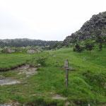 Incrocio con l'Alta Via dei Monti Liguri