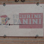 L'insegna dello storico marchio Panini