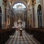 La Chiesa di Sant' Ignazio: interni
