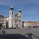Piazza della Vittoria con la Chiesa di Sant' Ignazio