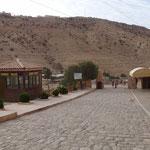 L'ingresso del sito archeologico di Petra