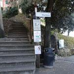 A San Rocco il sentiero si divide