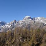 Le montagne circostanti