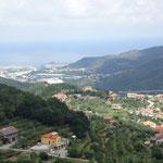Vista panoramica su Savona e Vado Ligure