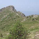 Punta Martin vista dal Monte Penello