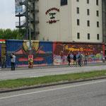 Berlino - Tratto del Muro di Berlino
