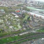 Bruxelles - vista dall'Atomium