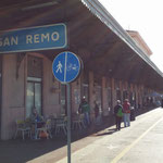 La vecchia stazione F.S. di San Remo