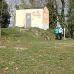Monte di Portofino con il rifugio automatizzato - ex Semaforo Vecchio