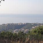 Panorama verso il mare di Arenzano