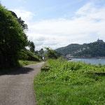 008_Monte Urgull_La strada di accesso