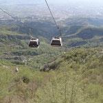 Tirana: la telecabina per il Monte Dajti