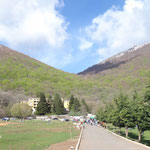 Monte Dajti: arrivo telecabina
