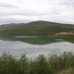 Verso il Kosovo: sosta sul lago Drinit