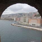 Napoli: vista da Castel dell'Ovo