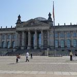 Berlino - Parlamento  Palazzo del Reichtag -