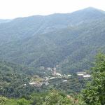Vista panoramica su Segno