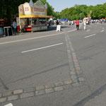 Berlino - Impronta ex muro di Berlino