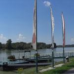 Ciclabile del Danubio nei pressi di Mauthausen