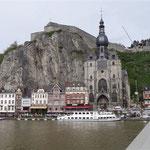 Dinant - La cattedrale e la Cittadelle