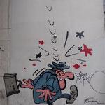 Bruxelle - I murales dei fumetti